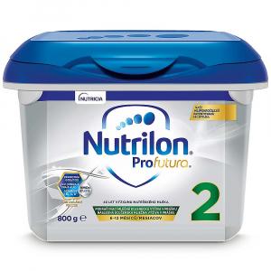 NUTRILON 2 Profutura Pokračovacie dojčenské mlieko od 6-12 mesiacov 800 g