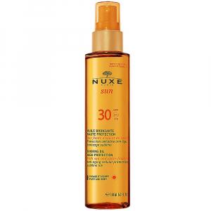 NUXE Sun Bronzujúci olej v spreji SPF30 150 ml