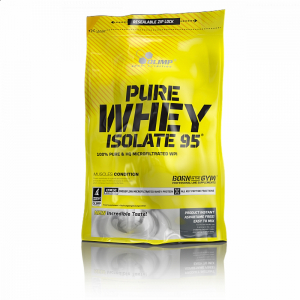 OLIMP Pure Whey Isolate 95 jahoda 600 g