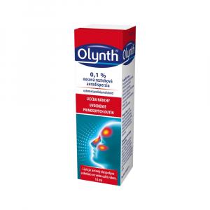 OLYNTH 0,1 % nosová roztoková aerodisperzia 10 ml