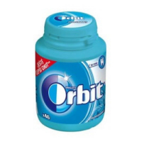 ORBIT DRAŽÉ PEPPERMINT DÓZA 64G