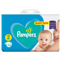 Pampers New baby 2 mini 3 - 6 kg 100 kusov
