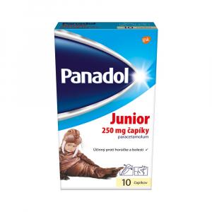 PANADOL Junior sup 250 mg 10 čapíkov