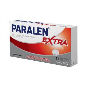 PARALEN EXTRA 500mg/65mg filmom obalené tablety 24 kusov