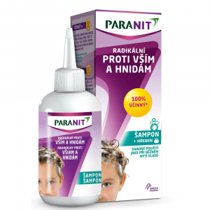 PARANIT Paranit Radikálny šampón 100 ml + hrebeň
