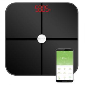 PERFECT HEALTH VO4011 Osobná váha diagnostická 180 kg, čierna