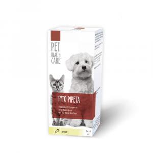 PET HEALTH CARE FYTO pipeta pre psov do 10 kg a mačky 15 ml