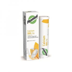 PHARMAVIT Calcium 500 mg 20 šumivých tabliet