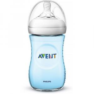 AVENT Fľaša Natural Modrá 260 ml