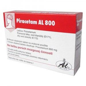 PIRACETAM AL 800 tbl flm 800 mg 1 x 30 ks
