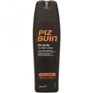 Piz Buin In Sun Spray SPF10 200ml (Sprej na opalování SPF10)