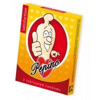 PEPINO prezervatívy kondómy satisfaction 3 kusy
