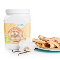 KETOLIFE Proteínové palacinky ovsené vločky príchuť vanilka 350 g