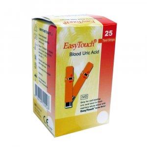 Prúžky EasyTouch - kyselina močová 25 kusov