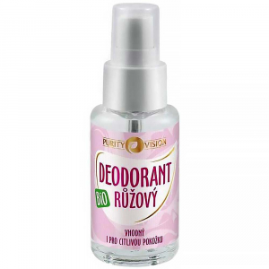 PURITY VISION Ružový dezodorant BIO 50 ml