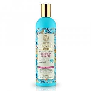 NATURA siberica Rakytníkový šampón pre normálne a mastné vlasy 400 ml