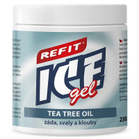 Refit Ice masážny gel s tea tree oil 230 ml