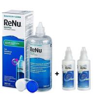 RENU Multiplus roztok na kontaktné šošovky 360 ml + 2 x RENU MultiPlus 60 ml ZADARMO