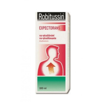 ROBITUSSIN EXPECTORANS sir (liek.skl.) 1x100 ml