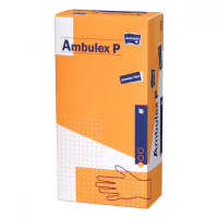 RUKAVICE AMBULEX NESTERILNÉ LATEX NEPUDROVANÉ M 100KS