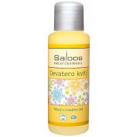 SALOOS Bio telový a masážny olej Devatero Kvetín 50 ml