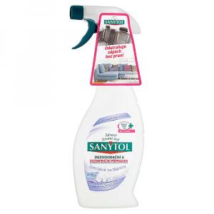 SANYTOL Dezodoračný a dezinfekčný prípravok na tkaniny 500 ml