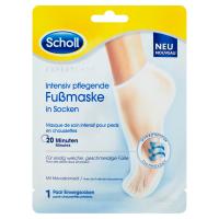 SCHOLL Expert Care Vyživujúca maska na nohy s makadamovými olejom 1 pár