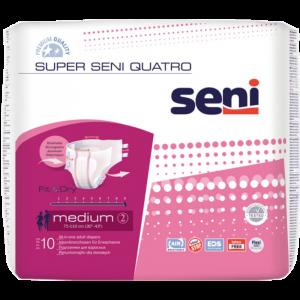 Seni Super Quatro Medium 10ks inkontinenčné plienkové nohavičky