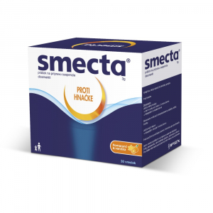 SMECTA Proti hnačke prášok na suspenziu 30 vrecúšok