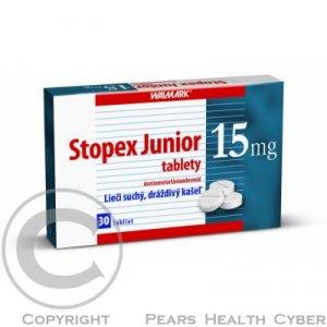 STOPEX JUNIOR TBL 30X15MG