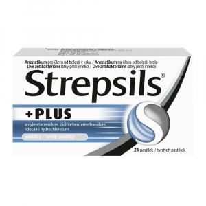 STREPSILS PLUS 24 pastiliek