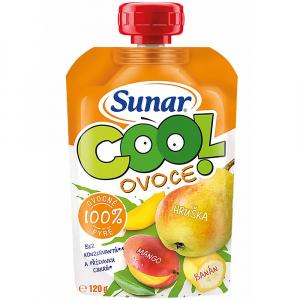 SUNÁREK Cool Ovocná kapsička Hruška Mango Banán 120 g