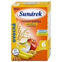SUNARKA Nemliečna kaša ovocie s 8 cerealiami 180 g
