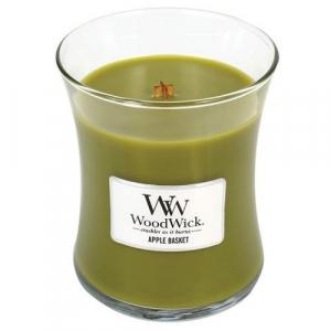 WOODWICK Vonná sviečka váza Apple Basket 275 g