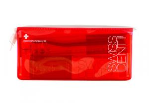Swissdent sada RED (pasta 50 ml Extreme + spray 9 ml Extreme + kefka whitening + taštička)
