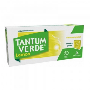 TANTUM VERDE Lemon 3 mg 20 pastiliek