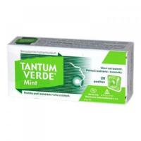 Tantum Verde Mint pas ord 3 mg (obal papier) 1x20 ks