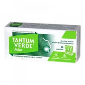 TANTUM VERDE Mint 3 mg 20 pastiliek