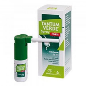 TANTUM VERDE Spray Forte orálna aerodisperzia 15 ml