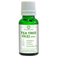 PHARMA ACTIV Tea Tree olej s kvapkadlom 20 ml