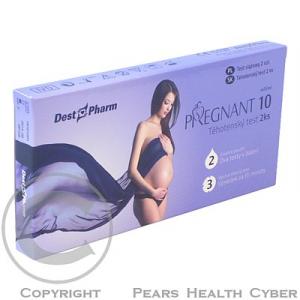 Tehotenský test PREGNANT 10 2ks