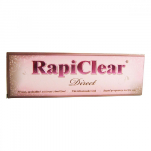 Tehotenský test RapiClear Direct 1 ks