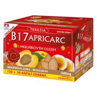 TEREZIA B17 Apricarc marhuľový olej 150+30 kapsúl ZADARMO