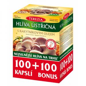 TEREZIA Hliva ustricová s rakytníkovým olejom 100+100 kapsúl BONUS