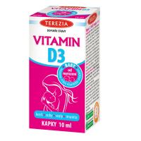 TEREZIA Vitamín D3 BABY kvapky 10 ml