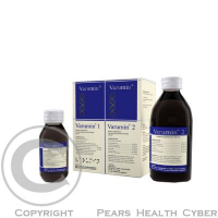 Varumin 1 a Varumin 2 perorálny roztok 50 ml + 200 ml