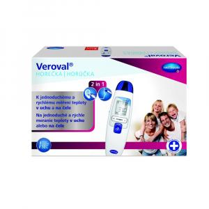 VEROVAL Duo Scan Infračervený dotykový teplomer 2 v 1