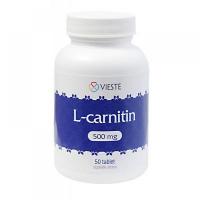 Vieste L-karnitín 500 mg 50 tabliet