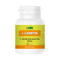 VIRDE L-Carnitin Plus Green Tea + Chróm 60 tabliet