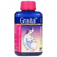 VitaHarmony Gravital pre tehotné a dojčiace ženy 180 tabliet